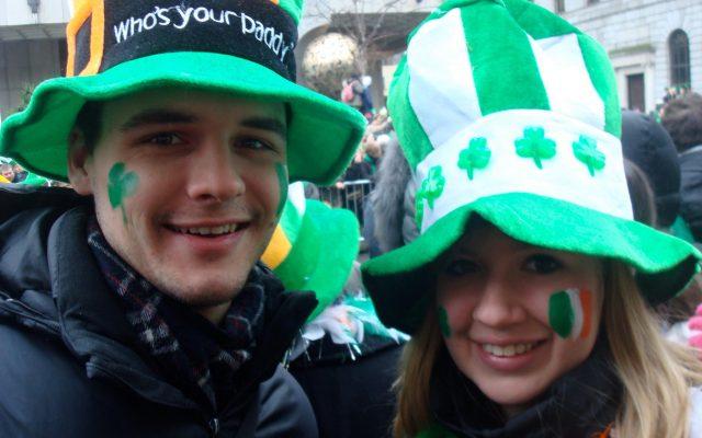 St Patrick's Day in Dublin Ireland