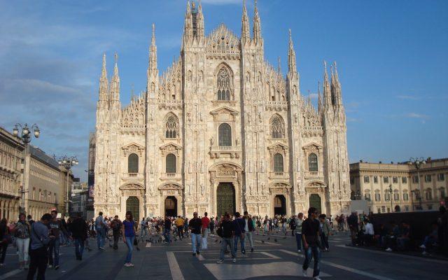 Duomo in Milan Italy