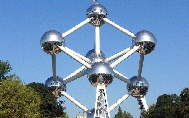 Belgium atomium in Brussels