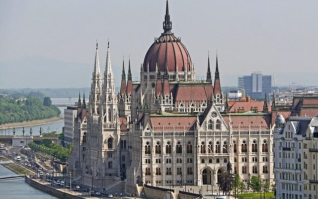 Budapest city parlament Hungary