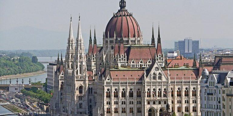 Budapest city parlament Hungary