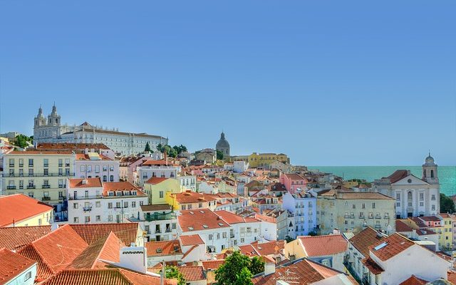 Lisbon Portugal beautiful houses