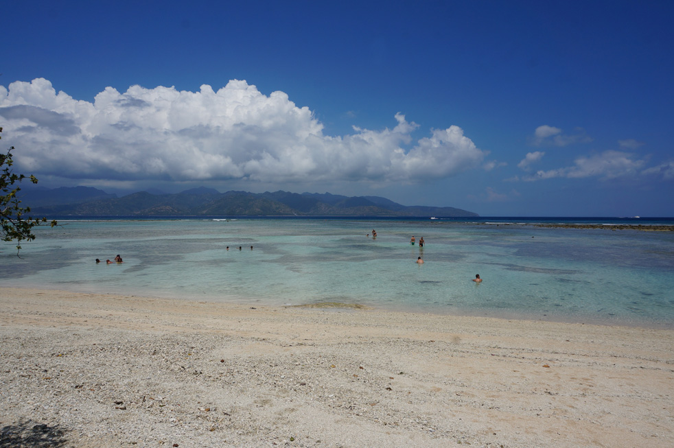Beach on Gili T