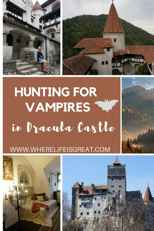 Hunting for vampires in Dracula Castle