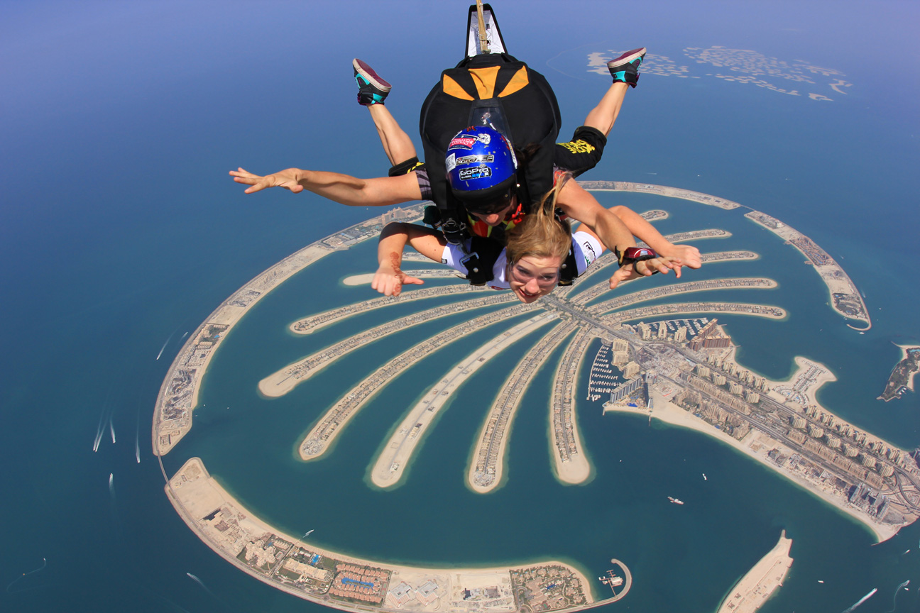 OMG, I Just Jumped Out Of The Plane