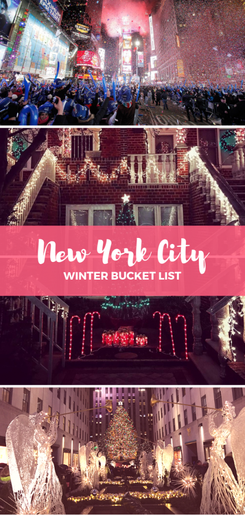 Who doesn't dream of seeing New York City on Christmas? The big apple has been featured in a countless number of Christmas movies and songs, starting with the most popular Home Alone 2, through classics like When Harry Met Sally. Here is the ultimate winter bucket list for New York City.