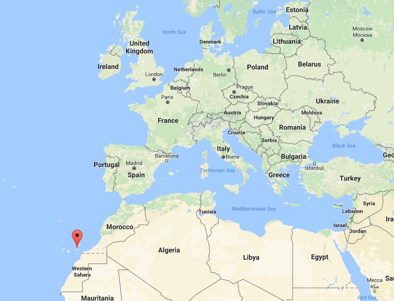 Best Beaches Fuerteventura Map