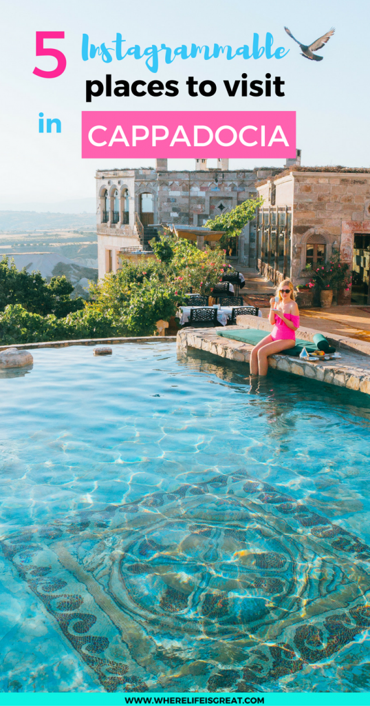 5 Instagrammable places to visit in Cappadocia