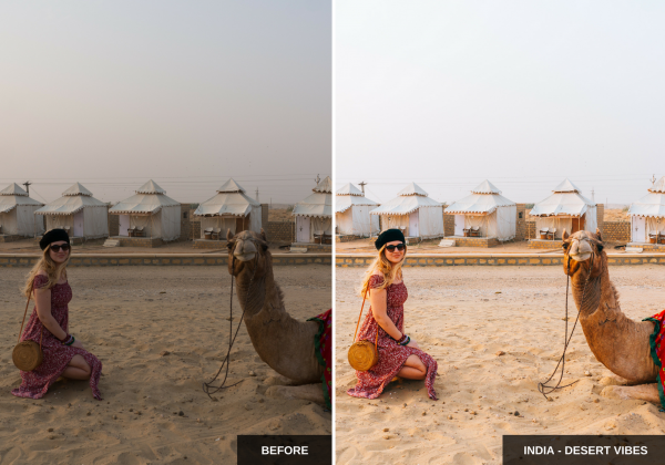 India - Desert vibes - Wherelifeisgreat Lightroom presets, Oriental vibes pack