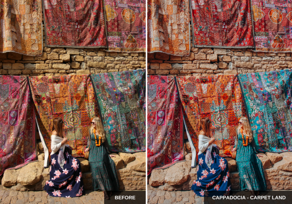 India- carpet land - Wherelifeisgreat Lightroom presets, Oriental vibes pack
