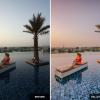 Tel Aviv - Pink Sunset - Wherelifeisgreat Lightroom presets, Oriental vibes pack