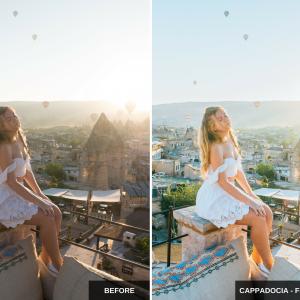 Cappadocia - first ray of sun - wherelifeisgreat Lightroom presets