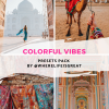 Colorful vibes presets pack by wherelifeisgreat