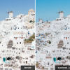 Santorini, a sea of white: Mediterranean sun Lightroom presets pack ideal for Instagram