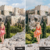 Athens stroll:Mediterranean sun Lightroom presets pack ideal for Instagram