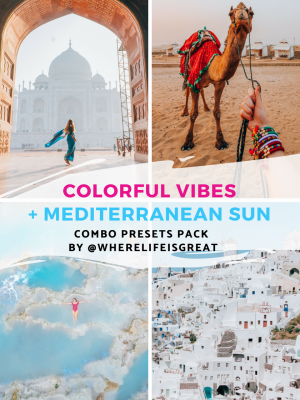 Combo presets pack for Lightroom by wherelifeisgreat