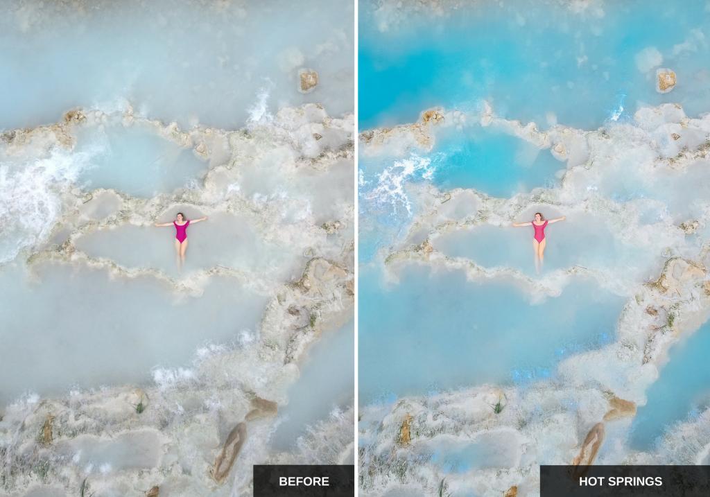 Hot springs: Mediterranean sun Lightroom presets pack ideal for Instagram