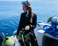 my first time scuba diving