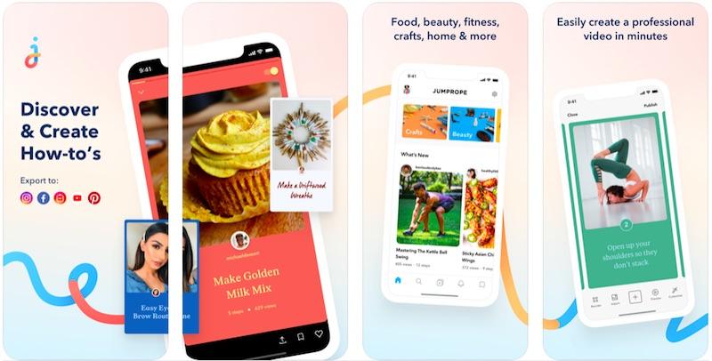 Jumprope App is one of the best Instagram stories apps