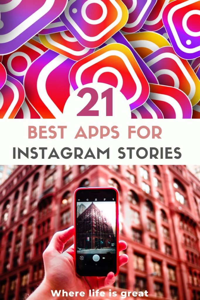 21 best Instagram Stories Apps