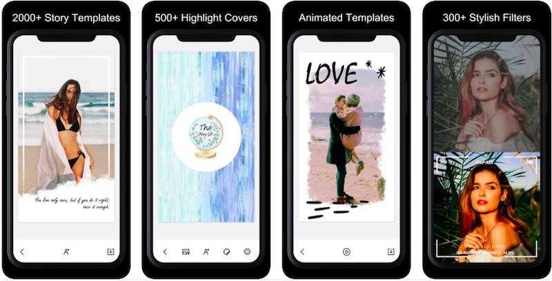 StoryArt App is one of the best Instagram stories apps