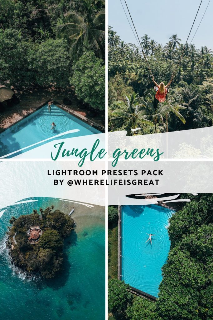 jungle greens wherelifeisgreat presets