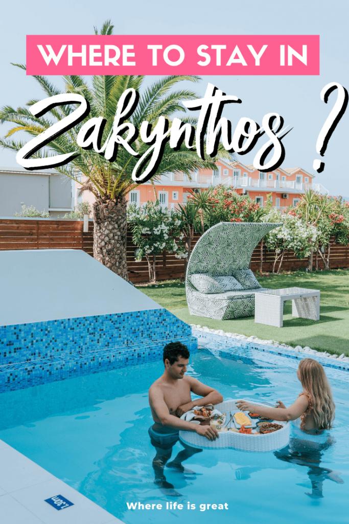 Where to stay in Zakynthos
